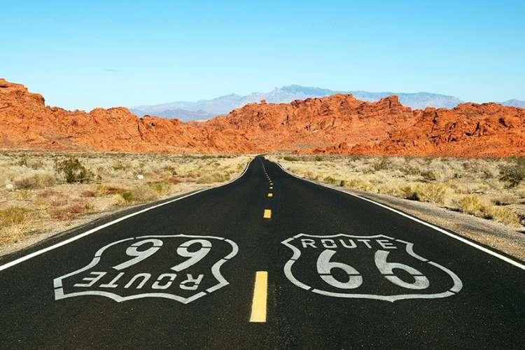 la route mythique des USA