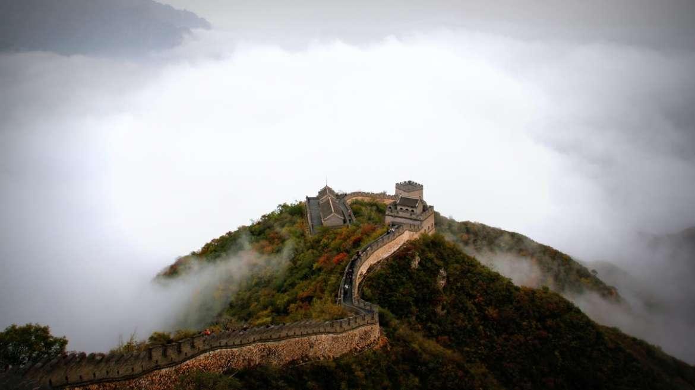 La grande muraille de chine : une des sept merveilles du monde