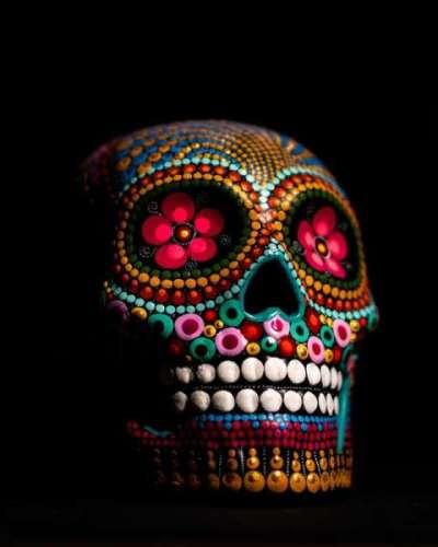 Calaveras : Têtes de mort mexicaines