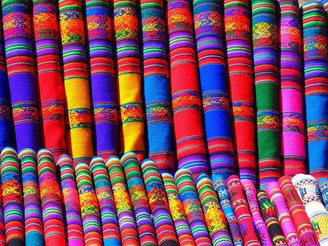 Tissus et vêtements mexicains