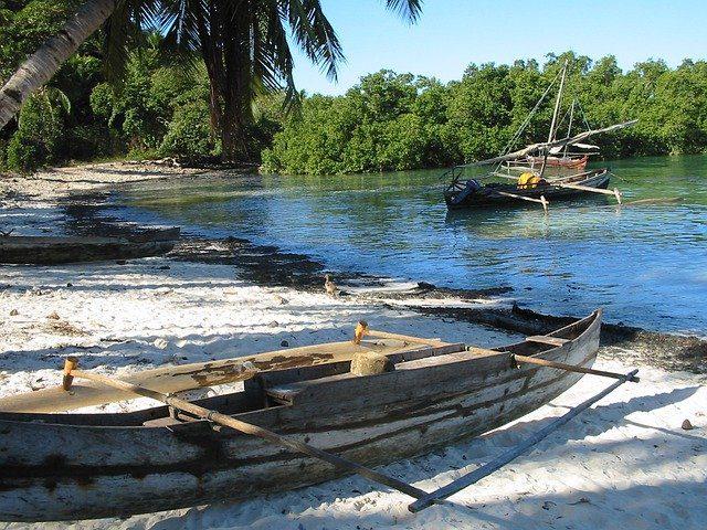 Pirogue lors d'un Voyage à Madagascar